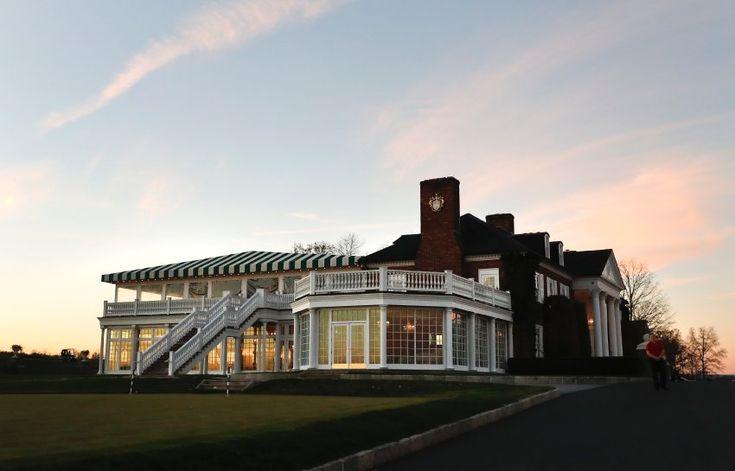 Das Clubhaus des Golfclubs in Bedminster. Trump erwarb die Anlage im Jahr 2002 für rund 35 Millionen Dollar.