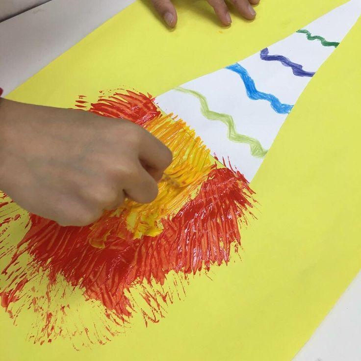 Tocha olímpica e pintura com garfo - Especial férias                                                                                                                                                     Mais