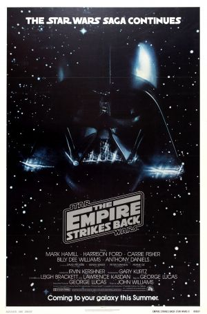 Star Wars The Empire Strikes Back Advance USA 1979 - original vintage advance poster by Tom Jung for the forthcoming release of the second film in the original classic sci-fi Star Wars trilogy: The Empire Strikes Back - The Star Wars saga continues - Coming to your galaxy this Summer - released in 1980, directed by Irvin Kershner and starring Mark Hamill, Harrison Ford, Carrie Fisher, Billy Dee Williams, Anthony Daniels, David Prowse, Kenny Baker, Peter Mayhem and Frank Oz listed on…
