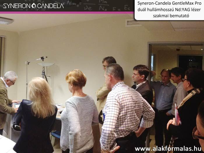 Hamish McNair, a Syneron-Candela vállalat alkalmazás specialistája kezelési bemutatót tart a Candela GentleMax Pro -val #syneron #candela #orvosi #laser #gentlemax #centerkft http://alakformalas.hu/Hirek-erdekessegek/candela-piacnyito-orvosi-rendezvenyrol.html