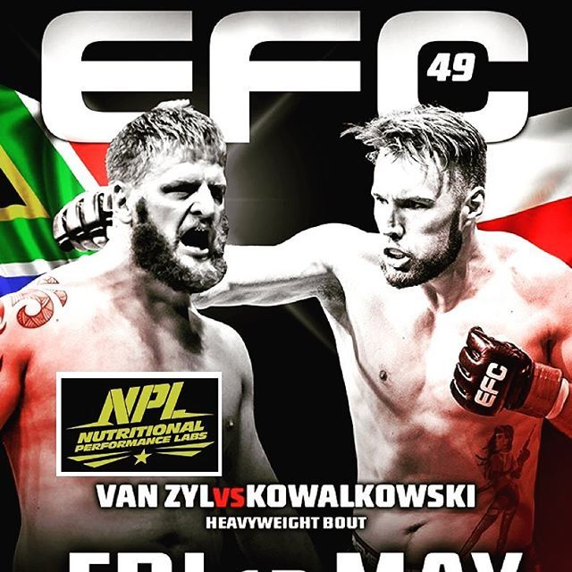 Best of Luck to NPL's Sponsored Athlete - Andrew 'One Gear' van Zyl - EFC's…
