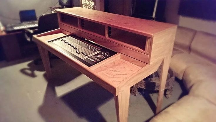 17 best images about recording studio desk on pinterest wood drafting table tic tac and trays. Black Bedroom Furniture Sets. Home Design Ideas