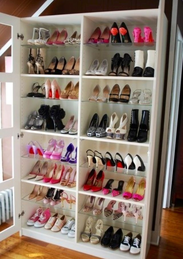 diy bookshelf turned into a shoe rack diy ideas