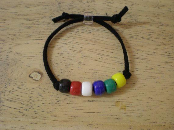 7 salvación pulsera artesanal Kits por FlyinBFarmsLLC en Etsy