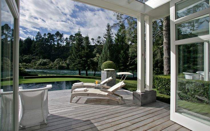 Huka Lodge NZ tranquility!