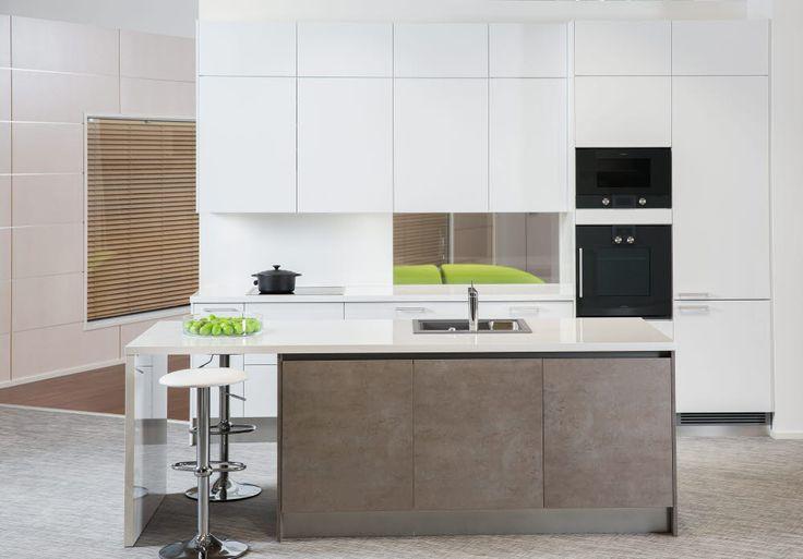 AlaCarte -keittiot Luce ja Cemento   #keittiö #kitchen