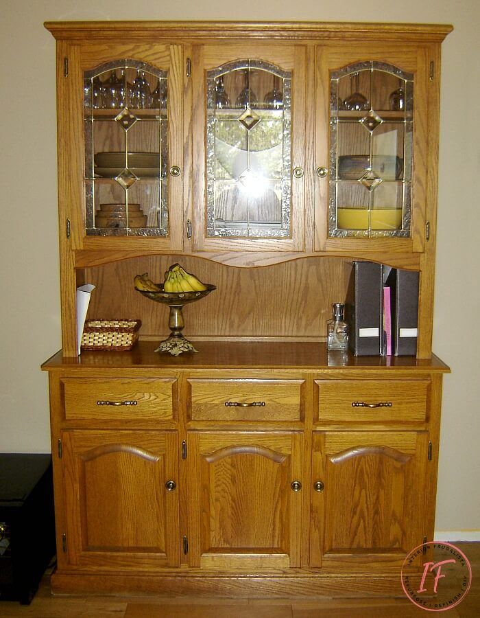 The Built In Pantry Makeover That Took An Unexpected Turn In 2020 Repurposed China Cabinet Small China Cabinet China Cabinet