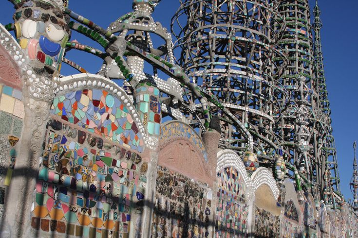 14 Best Images About Mosaic Destinations Watts Towers Ca