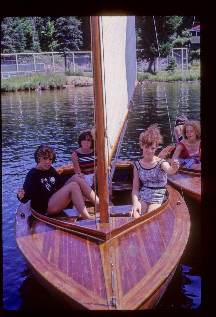 Wooden sail boats!