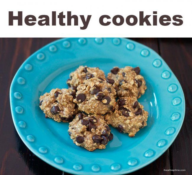 Healthy Oatmeal Banana Chocolate Chip cookies :: 5 healthy after-school snacks | #BabyCenterBlog