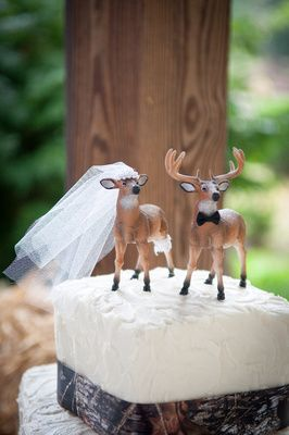 Country wedding cake topper {www.YevStudios.com}  (540) 246-8314 to book your wedding photographer today!