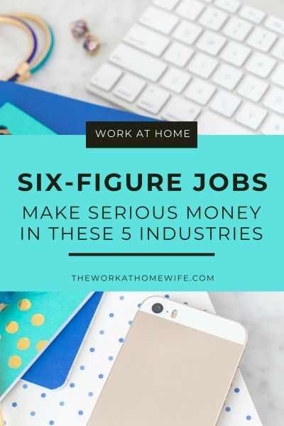 5 Six Figure Job From Home No Fancy Education Needed Jobs Pinterest Work From Home Jobs Home Jobs And Money From Home