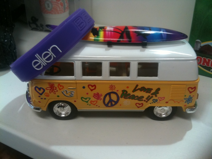 All aboard!! Ellen lets go surfing!!