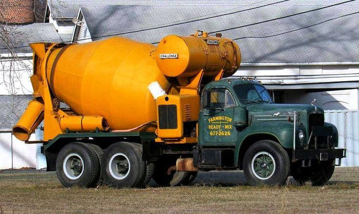 Bmodel mack readymix concrete truck concrete truck