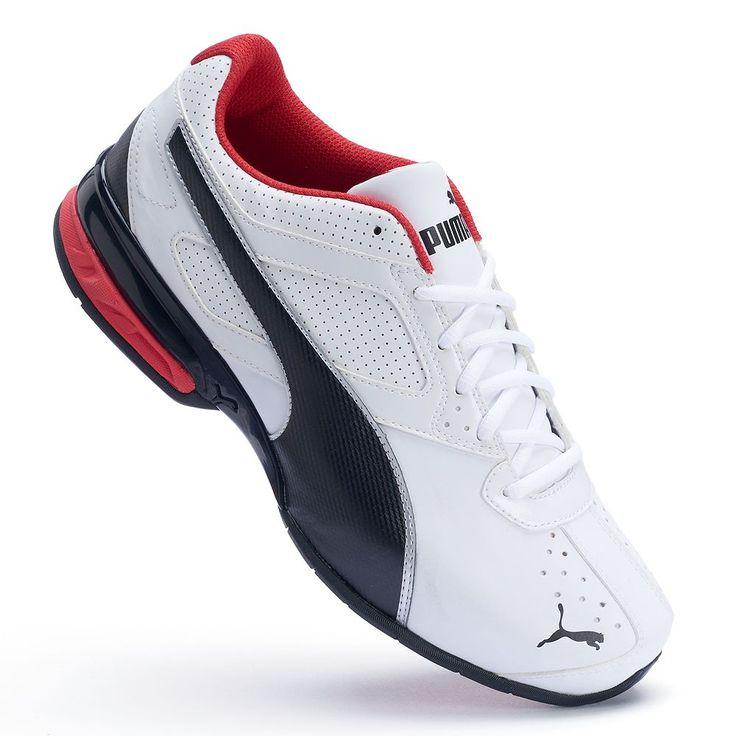PUMA Tazon 6 FM Men's Running Shoes, Size: 11.5 Wide, White