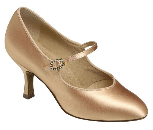 Lady's standard shoes - Supadance Style 1012. Visit http://ballroomguide.com/comp/attire/shoes.html for more info about ballroom shoes