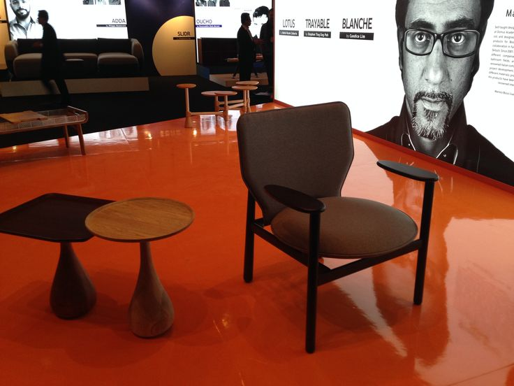 Marvelous PALM Table + MOOR Easy Chair For DEEP Furniture Sdn. Bhd.   Malaysia #