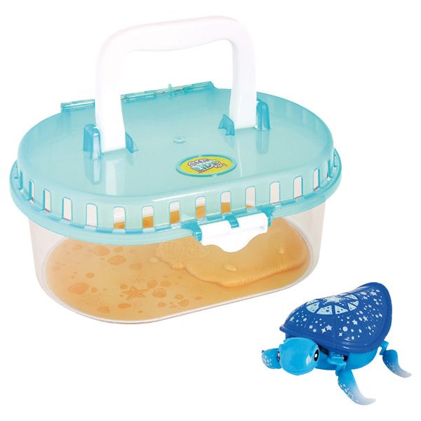 E PAPA NOEL LANEUVILLE Little Live Pets-Aquarium et tortue