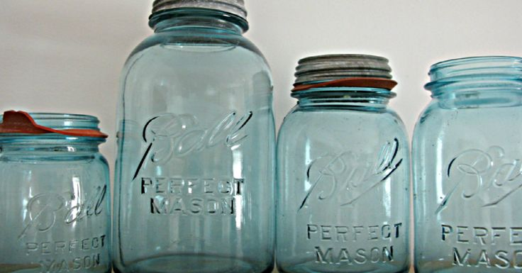 The famous jars were used by many a wife and mother to can and preserve food. My…