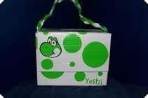 Yoshi duck tape purse