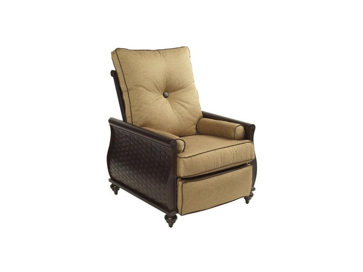 Castelle Outdoor/Patio Cushion Chair Recliner   Pride Family Brands   Fort  Lauderdale, FL
