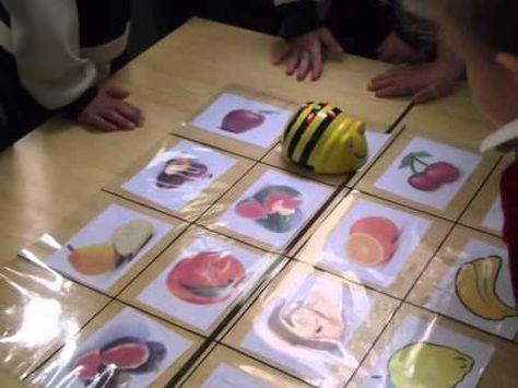 APPRENDIENDO CON ROBOTICA: APRENDEMOS VOCABULARIO (INGLES/ESPAÑOL) CON BEE BOT