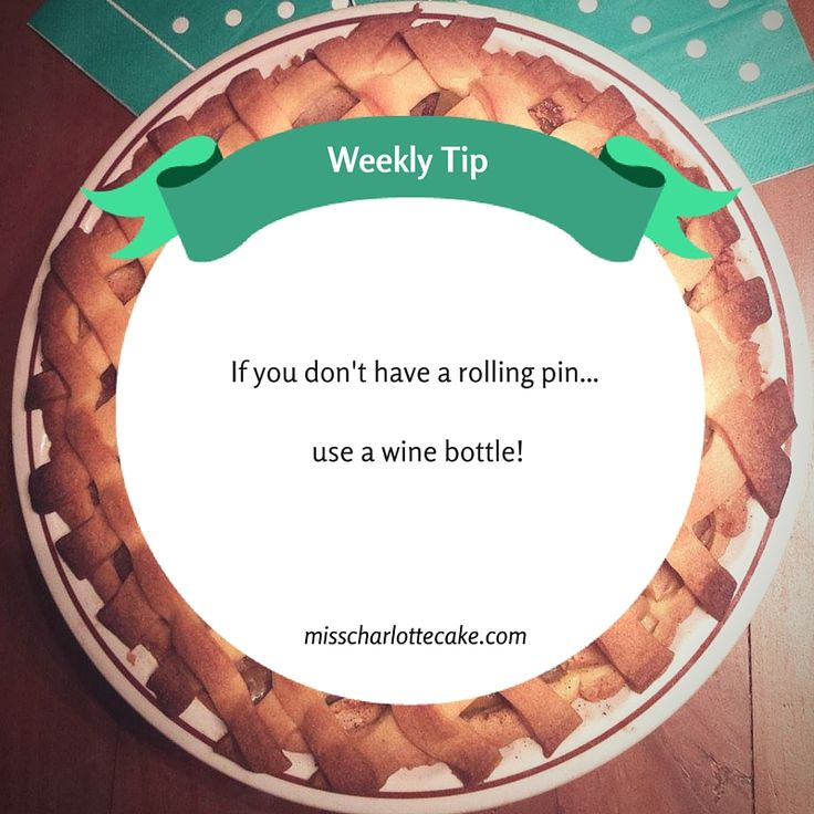 Weekly Tips – Miss Charlotte Cake
