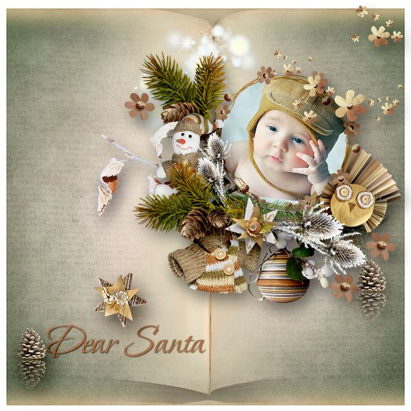New Kit *Dear Santa * by Lily Fee http://digital-crea.fr/shop/index.php… Photo: Pixabay