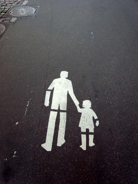 Pedestrian walk - Helsinki, Finland