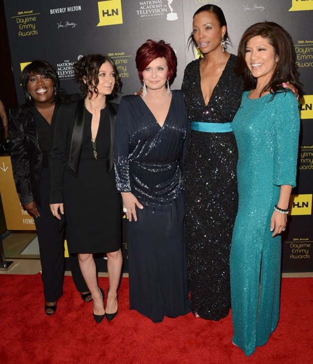 HLN Broadcasts The 39th Annual Daytime Emmy Awards, June 23, 2012 - Arrivals. Sheryl Underwood, Sara Gilbert, Sharon Osbourne, Aisha Tyler and Julie Chen.