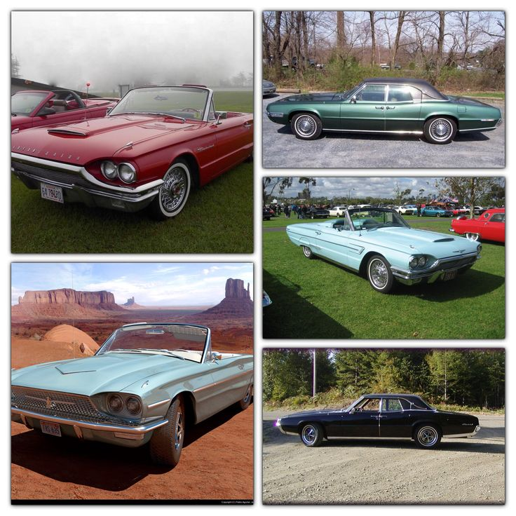 A #tribute to the #Ford #Thunderbird 1964-1968. #American classics! #MadeInAmerica #C2CFabrication Do you have a favorite?