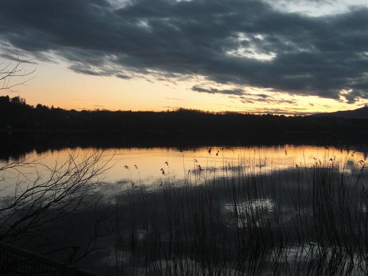 Lago di Oggiono (Lc) - Crepuscolo