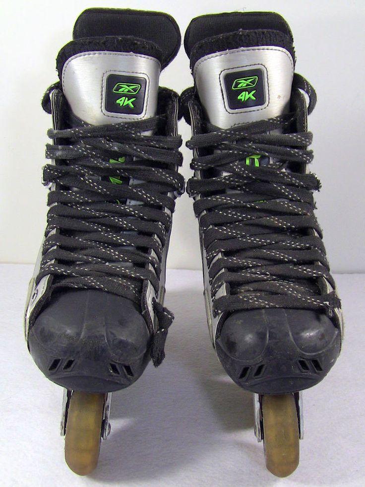 Reebok 4K Inline Hockey Skates Mens Skate Size 8 Shoe Size