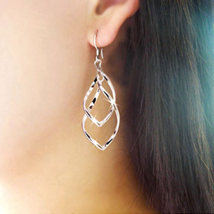 Long Earrings Women Gold Silver Plated Leaves Tassel Drop Earring Multilayer Hollow Metal Charm Dangle Eardrop Fashion Jewelry