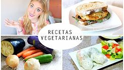 recetas vegetarianas - YouTube
