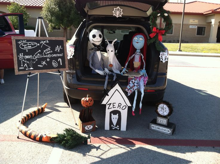 trunk or treat nightmare before christmas - Google Search