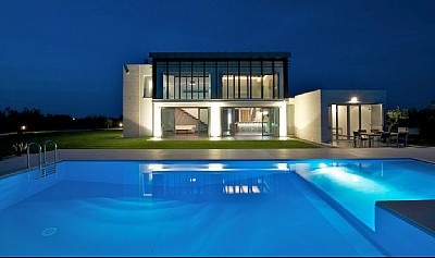 Italian Designer Villa near Ortona, 10 km from Adriatic Sea, 30 min. from Pescara Airport. All mod cons, unique design/features, swimming pool, eco/energy-efficient. Two + 1 bedrooms, max. six guests. For sale. Email: luigimonteferrante@yahoo.com for info, details, price.