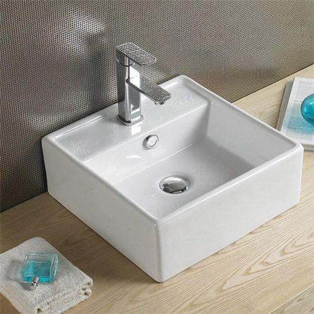 Umywalka Ceramiczna Stawiana Nablatowa SCARLET REA (6244167887) - Allegro.pl - Więcej niż aukcje.