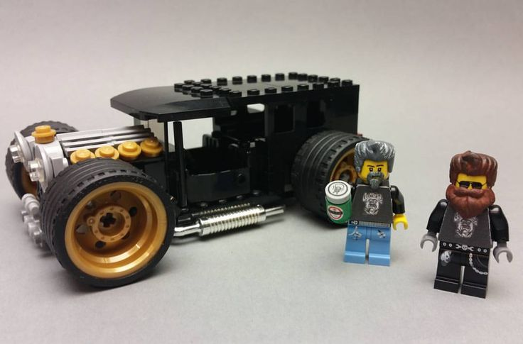 """patsonphotos: """"What do you guys think about my fast and loud minifigs. Say hi to richard and Aaron. Who could be better to present my custom lego hotrods. #fastandloud #gasmonkeygarage..."""