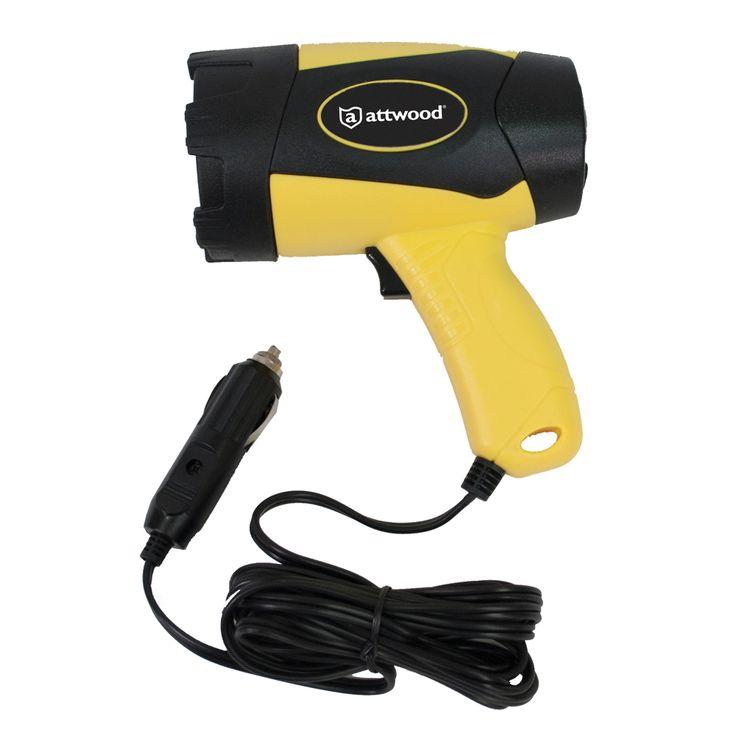 Attwood Handheld Spotlight - 400 Lumens - 12V - https://www.boatpartsforless.com/shop/attwood-handheld-spotlight-400-lumens-12v/