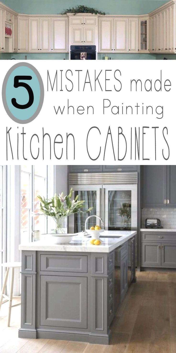 5 Mistakes People Make When Painting Kitchen Cabinets Diy
