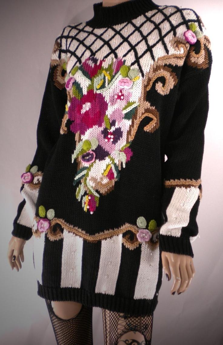 Baroque vintage sweater via ebay