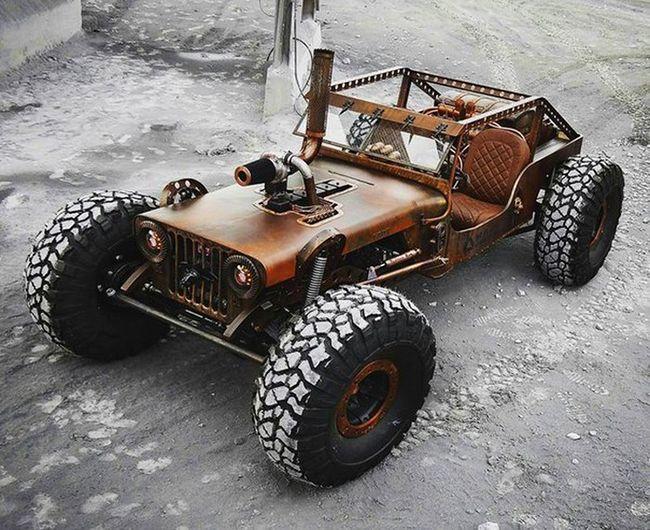 """""""Rock Rat River Raider"""", a máquina feita para o apocalipse"""