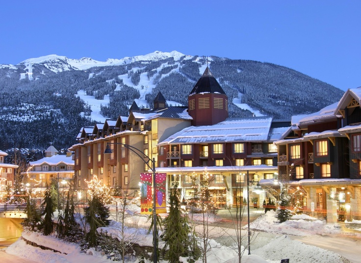 Make a magical winter getaway to Delta Whistler Village Suites in British Columbia.