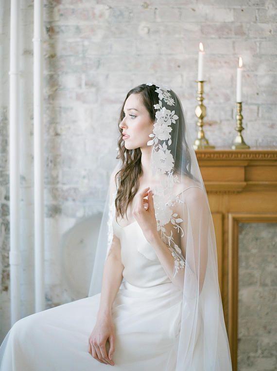 30 Classic Romantic Wedding Veils You Ll Love Classic Romantic