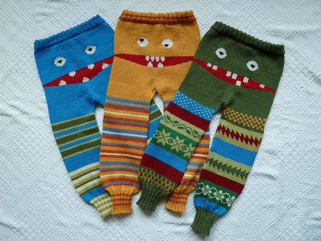 Monster Longies by LilleMy2009, via Flickr