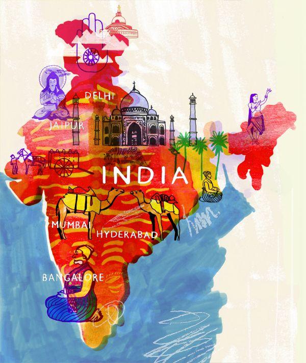Matt-Inde-J'ai mis ce photo d'Inde car dans le livre ils y a une page de les fait et ils parle de l'Inde et comment l'Inde regarde triangulaire.(pg29)