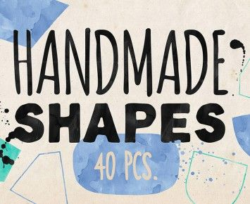Hand-drawn Vector Shapes Vol. 2 « Design Cuts