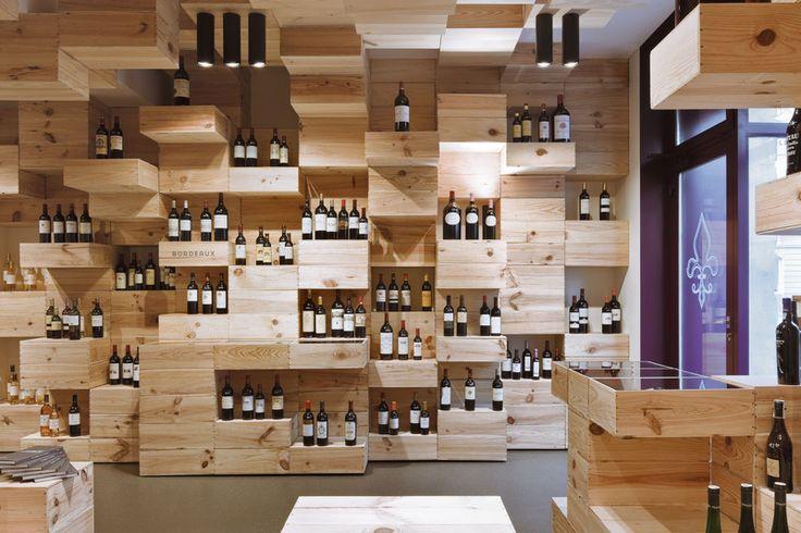 1000 id es sur le th me stockage du vin sur pinterest - Caisse a vin decoration ...