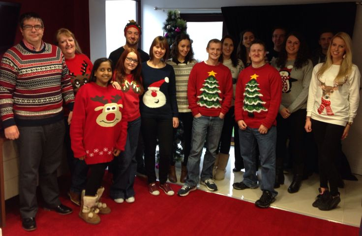 Feeling festive! A selection of our Christmas Jumpers in aid of Save the Children's #xmasjumperday